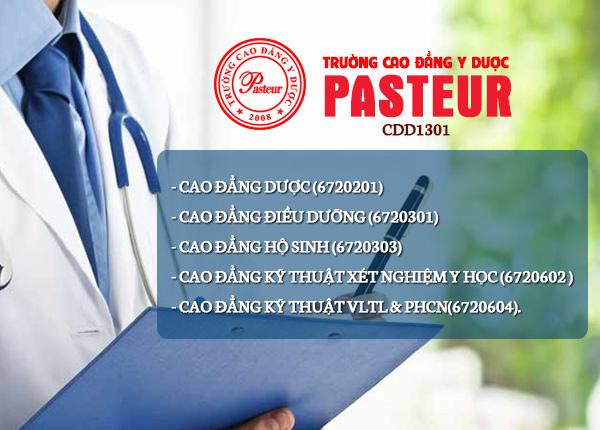 Thông tin mã ngành mã trường cao đẳng y dược Pasteur