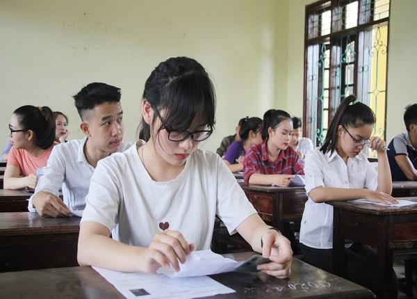 Thí sinh trong kỳ thi THPT quốc gia 2019 cần lưu ý