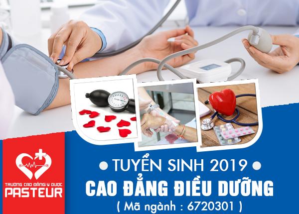 Miễn giảm 100% học phí Cao đẳng Điều dưỡng TPHCM năm 2019