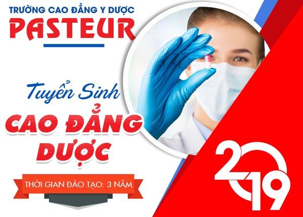 Thời gian đào tạo Cao đẳng Dược Pasteur năm 2019 là 03 năm