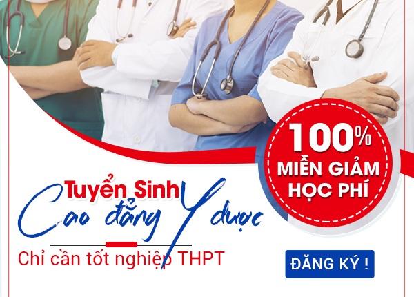 Tuyển sinh Cao đẳng Y Dược TPHCM năm 2019 chỉ cần tốt nghiệp THPT