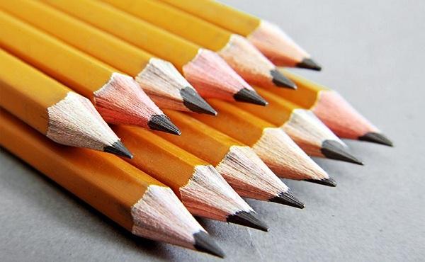 Thí sinh nên sử dụng loại bút chì 2B trở lên