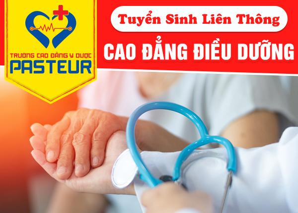 Liên thông Cao đẳng Điều dưỡng tại TPHCM học thứ 7 Chủ nhật