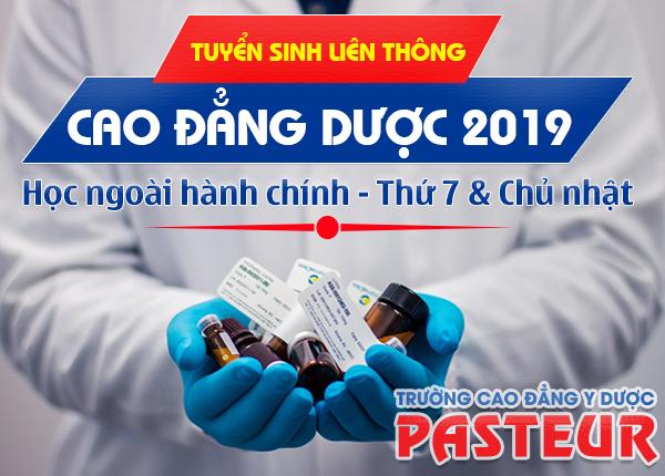 Lịch thi liên thông Cao đẳng Dược tại TPHCM tháng 9/2019
