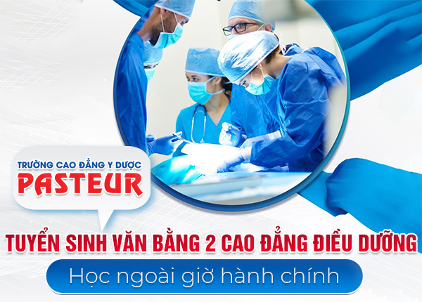 Tuyển sinh văn bằng 2 Cao đẳng Điều dưỡng tháng 9/2019 tại Bình Thạnh, TPHCM