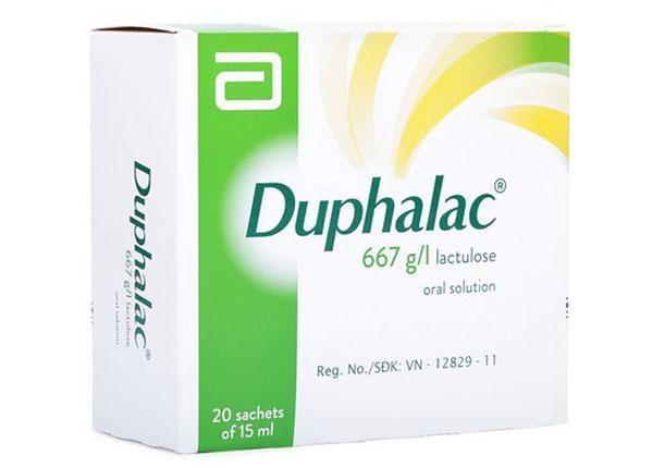 Dunphalac điều trị táo bón