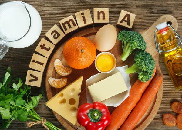 Vitamin A có nhiều trong thực phẩm hằng ngày