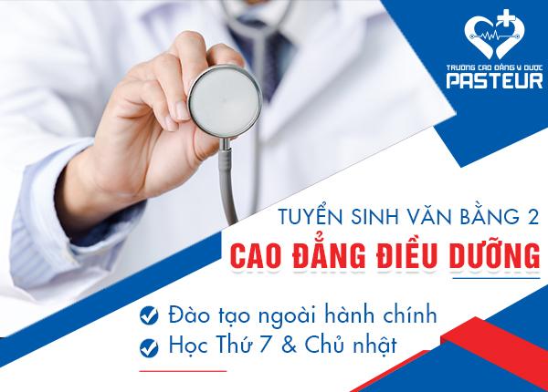 Văn bằng 2 Cao đẳng Điều dưỡng đào tạo ngoài giờ hành chính T7&CN