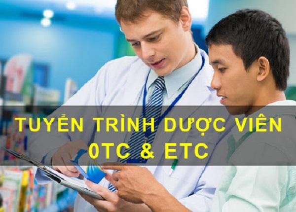 Tuyển dụng Trình Dược Viên ETC/OTC