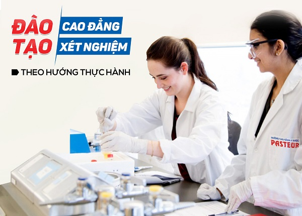 Đào tạo Cao đẳng Xét nghiệm chuyên nghiệp năm 2021
