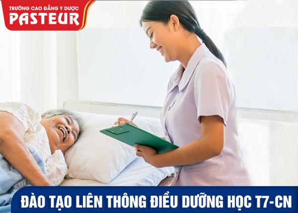 Đào tạo Liên thông Cao đẳng Điều dưỡng chuyên nghiệp năm 2021